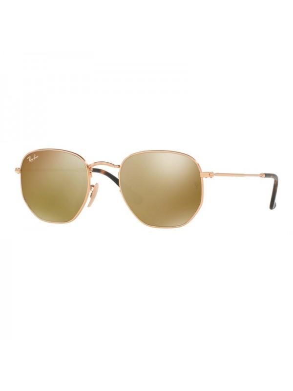 Ray Ban Hexagonal 3548N 00193 - Oculos de Sol ... b84ad55a64