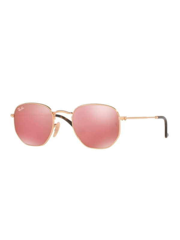 Ray Ban Hexagonal 3548N 001Z2 - Oculos de Sol ... 6863b5cad9