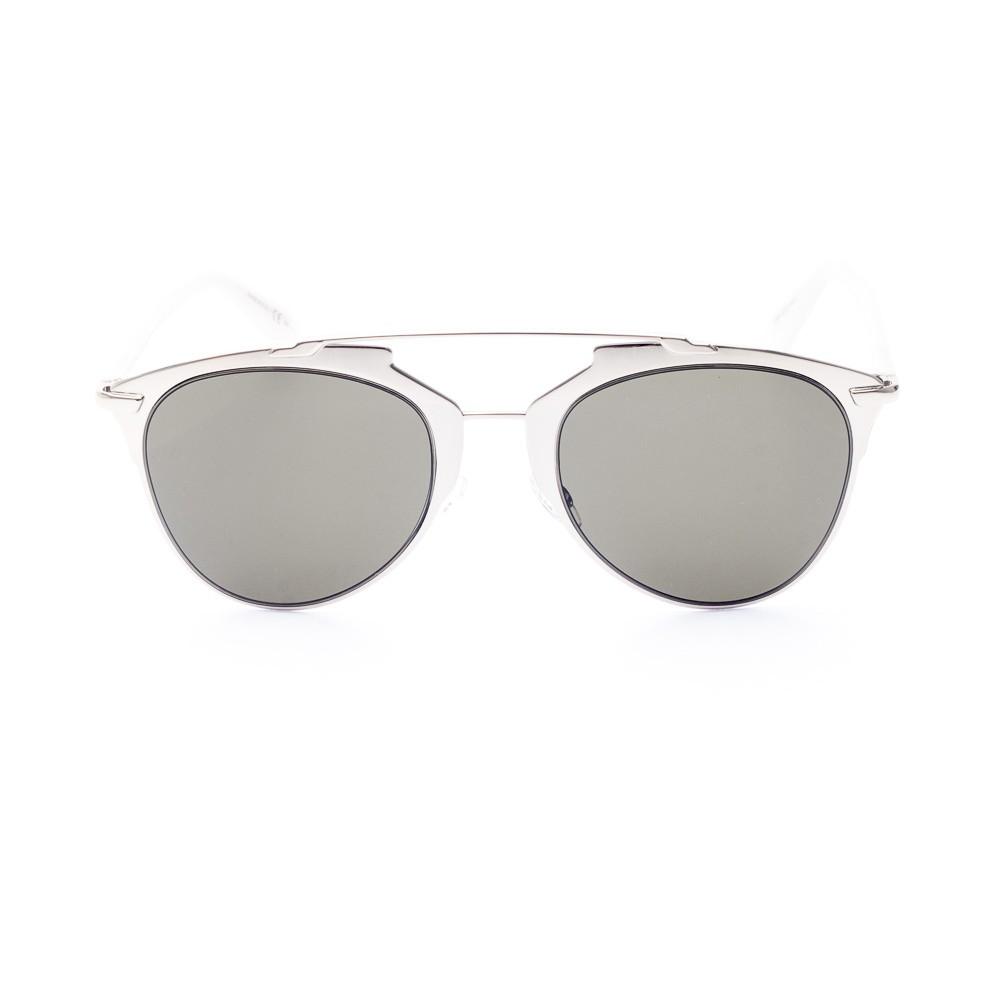 1019fc586b94b Oculos de sol moderno e futurista, produzido com o melhor do metal e do  acetato, com altissima confeccao da Maison Dior Com o formato pantos  reinterpretado ...