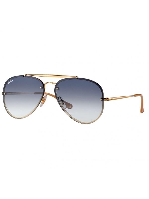 f1f0455385d Ray Ban Blaze Aviador 3584N 00119 - Oculos de Sol ...