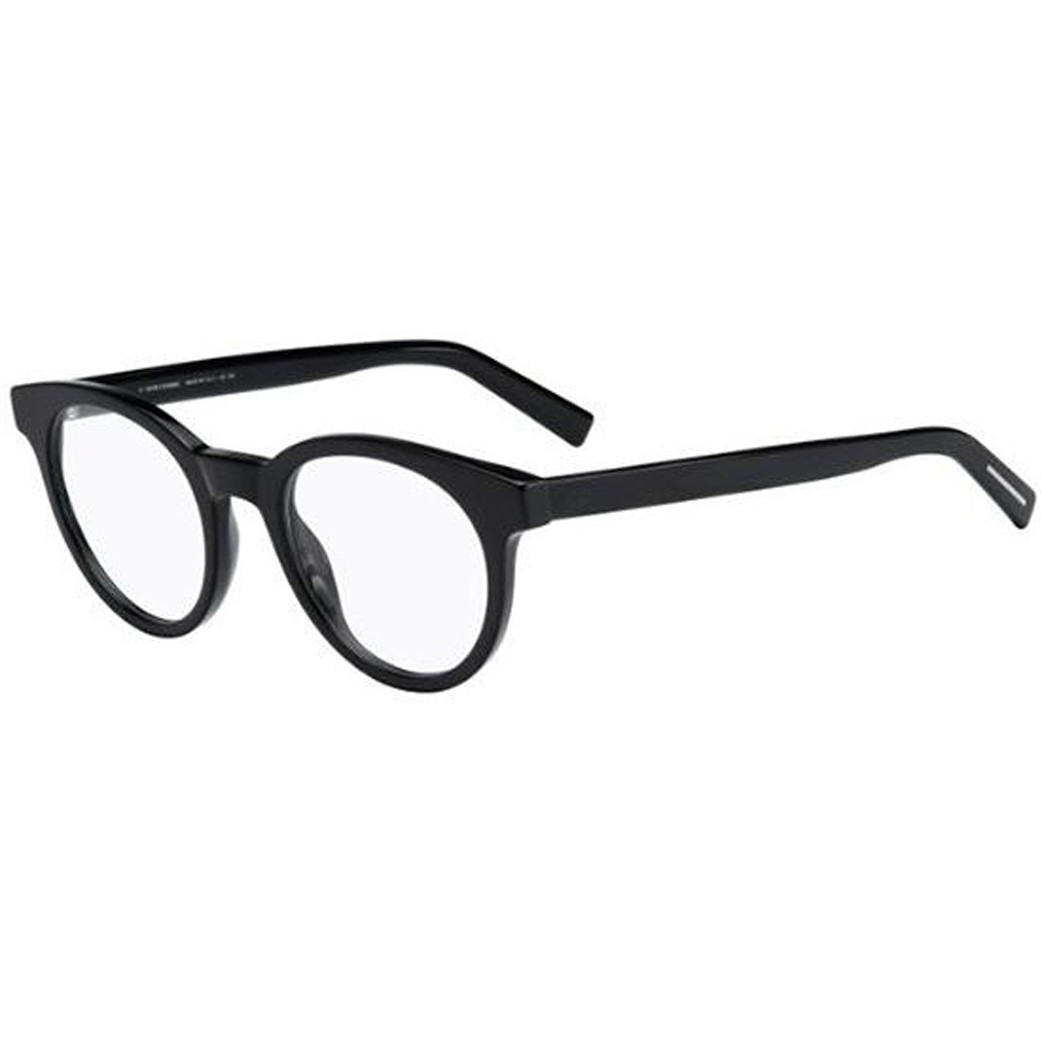 b0dafbf5a Oculos de grau Dior Black Tie 218 tem armacao redonda confeccionada em  acetato preto Modelo unissex classico e atemporal Comercializamos online  somente a ...