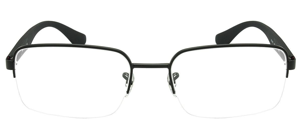 aaa44403616ba Oculos de grau da incrivel marca Ray Ban Modelos exclusivos, modernos e  cheios de estilo Modelo RX6354L produzido em metal preto, no formato  retangular