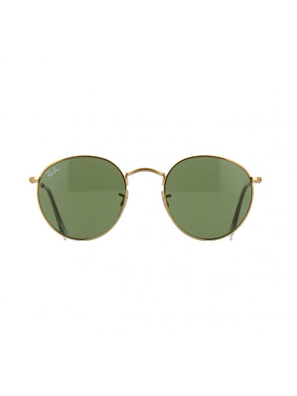 e73d60ece61 Ray Ban Round 3447 001 TAM 53 - Oculos de Sol