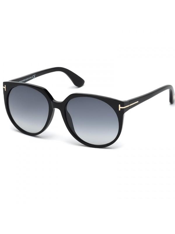 b3b542e9b Tom Ford Agatha 370 01B - Oculos de Sol ...