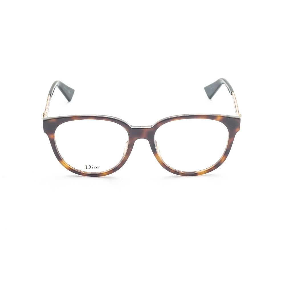 Os oculos de grau da grife italia Dior sao modernos, charmosos e estilosos  O modelo DiorAmaO2 e confeccionado pela mais alta qualidade do acetato  marrom ... bea060de2c